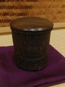 泰輔作 籠地茶器